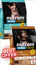 Nutram All Life Stages Small Breed T28 / T27 Grain Free   5.4 kg