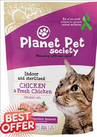 Planet Pet Fresh Lamb/Chicken Cat Food 1.5 kg