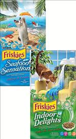Friskies Indoor Delights / Seafood Sensations Dry Cat Food 7.27 kg