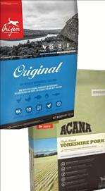 Acana Yorkshire pork /Orijen Original Dog Food 11.4 kg