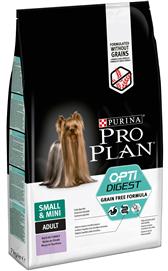 PROPLAN Grain Free Adult Small & Mini Sensitive Digestion 7 Kg