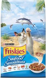 Friskies Seafood Sensations Dry Cat Food 7.27 Kg