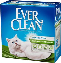 Everclean Extra Strong Clumping Cat Litter- Green 8.3 kg