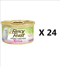 24X Fancy Feast Wet Cat Food - a variety of flavors 85 gr