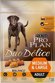 ProPlan Duo Delice M/L Adult Chicken Dog Food 10 kg